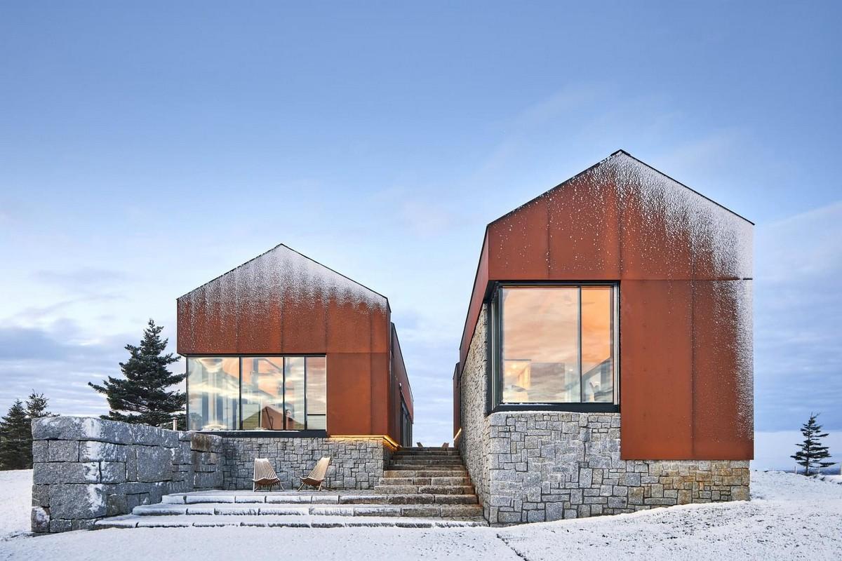 Дом для отдыха на побережье в Канаде