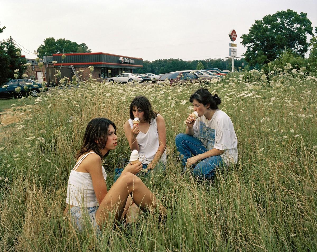 Фотопроект про американских девушек-подростков от Жюстины Курланд