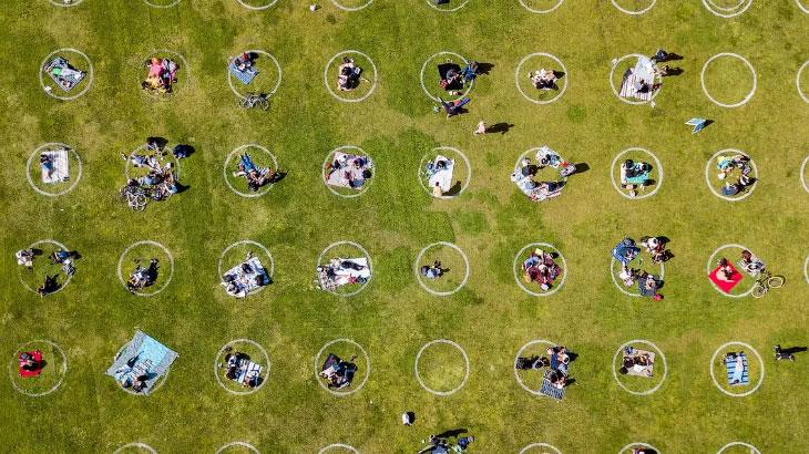 Как могут выглядеть парки после коронавируса
