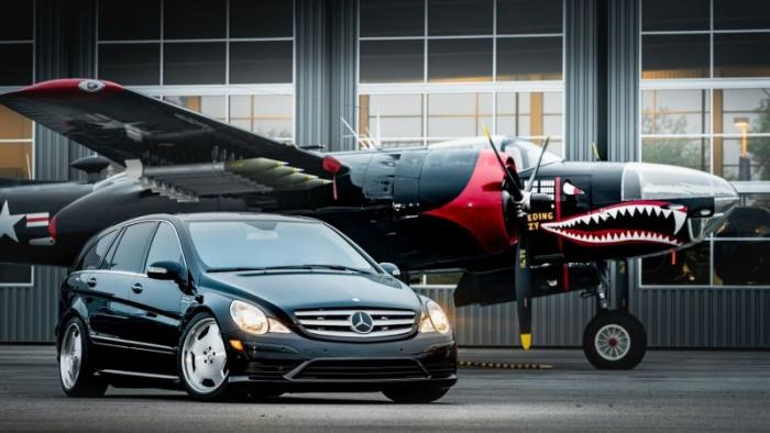 Mercedes-Benz R63 AMG Supercharged — 700 лошадей для большой семьи