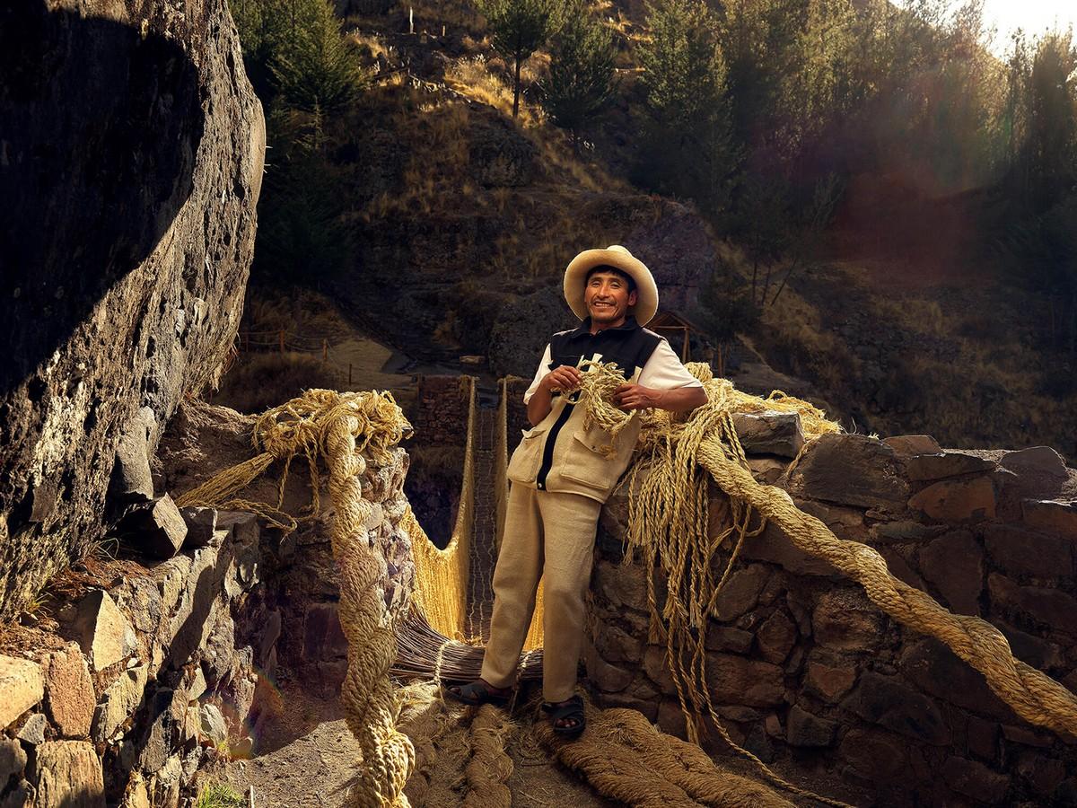 Портреты ремесленников Перу на снимках Романа Жеанно