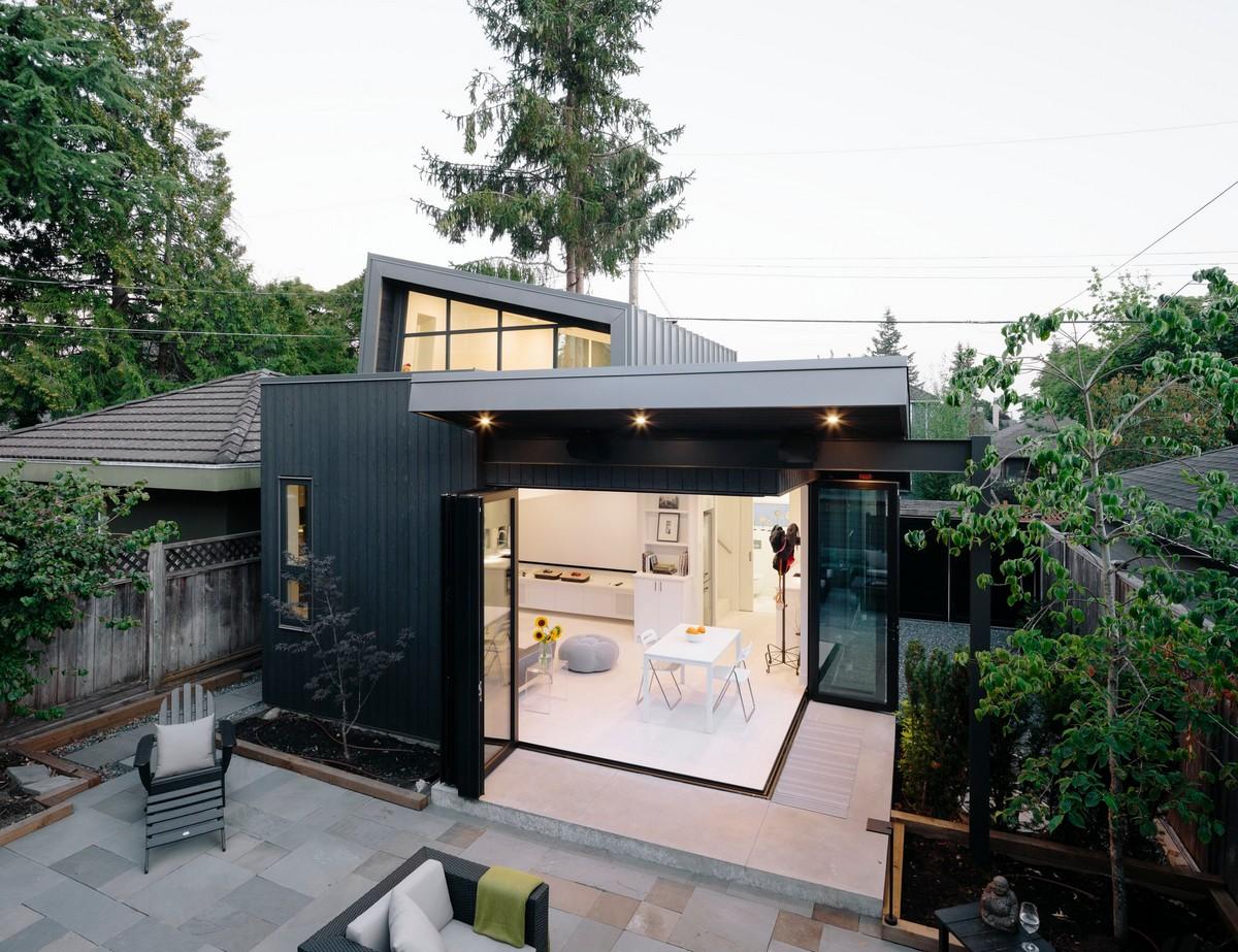 Расширение традиционного семейного дома в Ванкувере