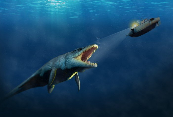 Водоплавающий тираннозавр: самый могущественный ящер моря