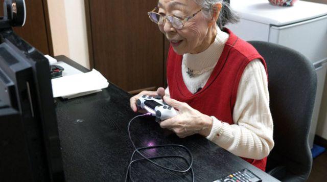 Хамако Мори — самый пожилой геймер из Японии