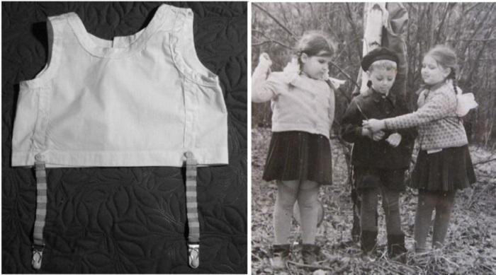 Зачем советские дети носили лифчик