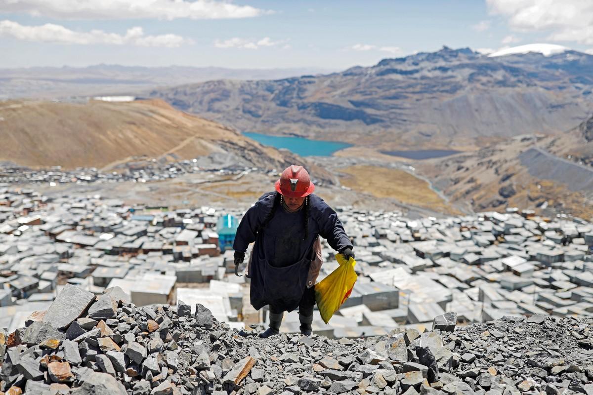 Золотоискатели Перу в фотопроекте Начо Досе