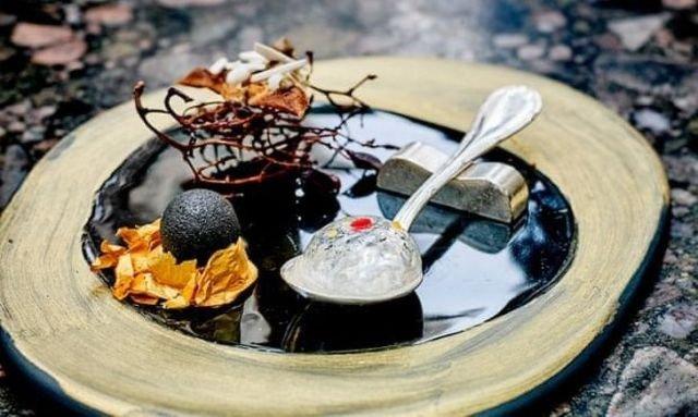 Безумная подача блюд в дорогих мишленовских ресторанах