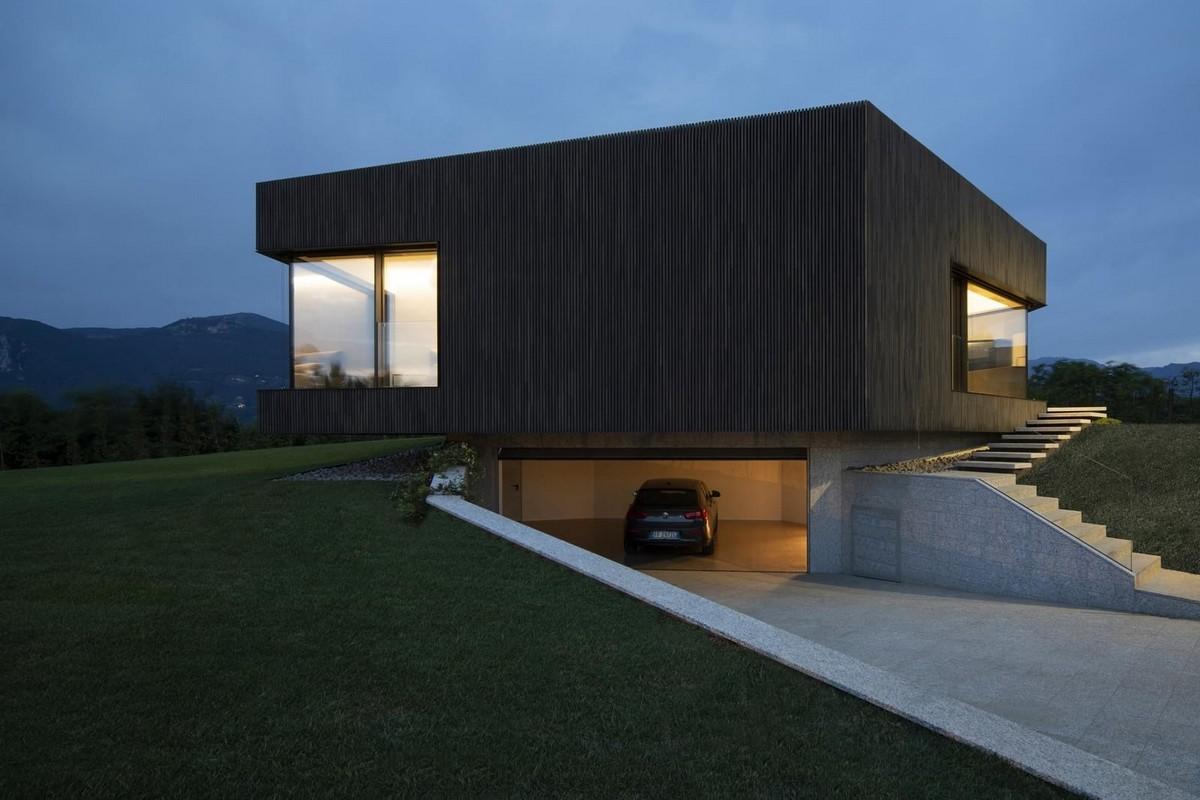Частный дом с видом на природный заповедник в Италии