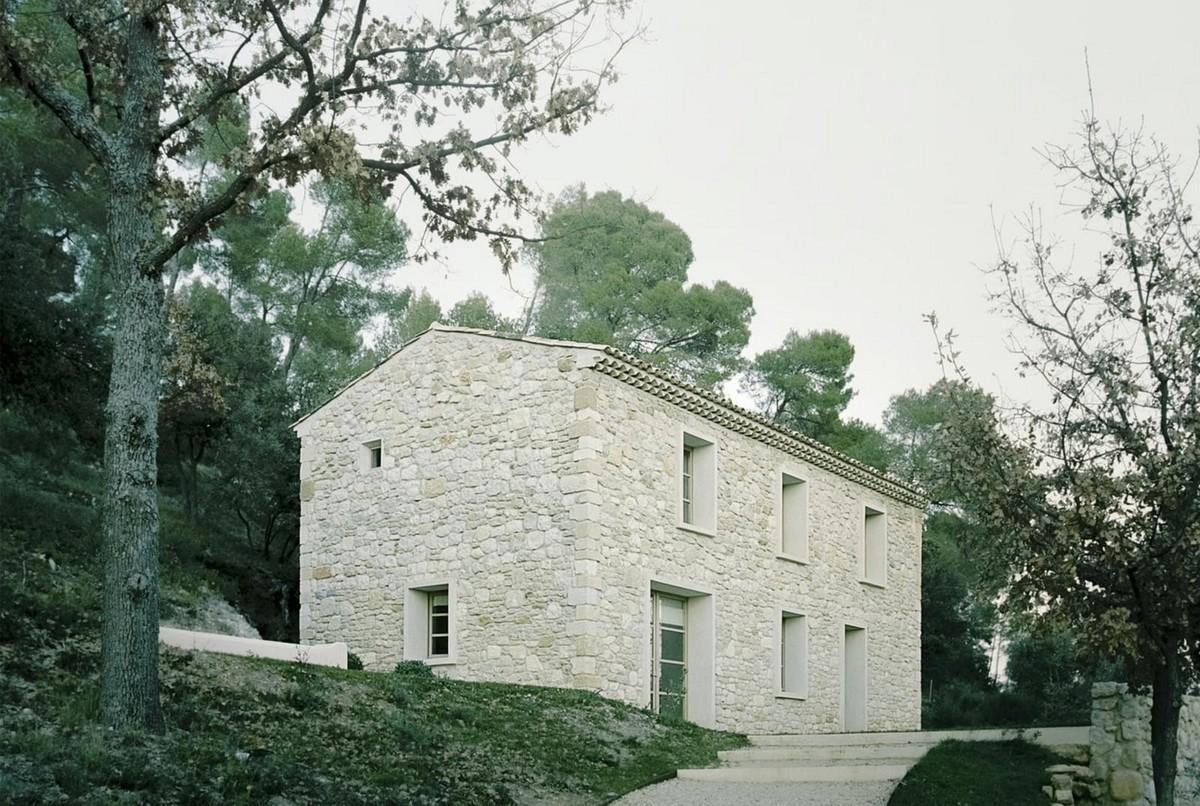 Дом для семьи архитектора на юге Франции