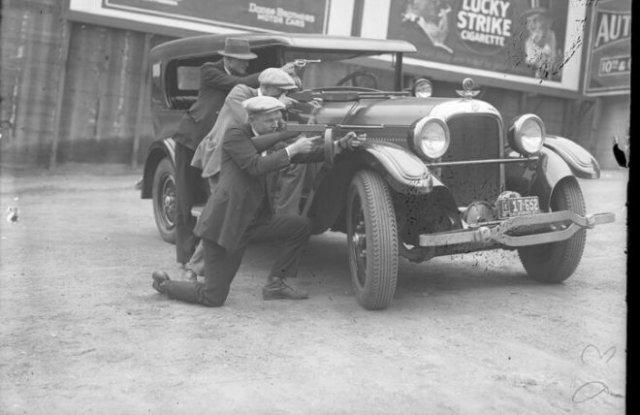 Исторические снимки США во времена «Сухого закона»