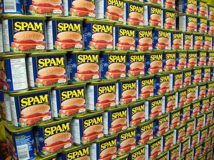 История появления термина спам