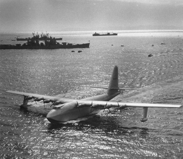 Самолёт Хьюз H-4 «Геркулес» — деревянный гигант