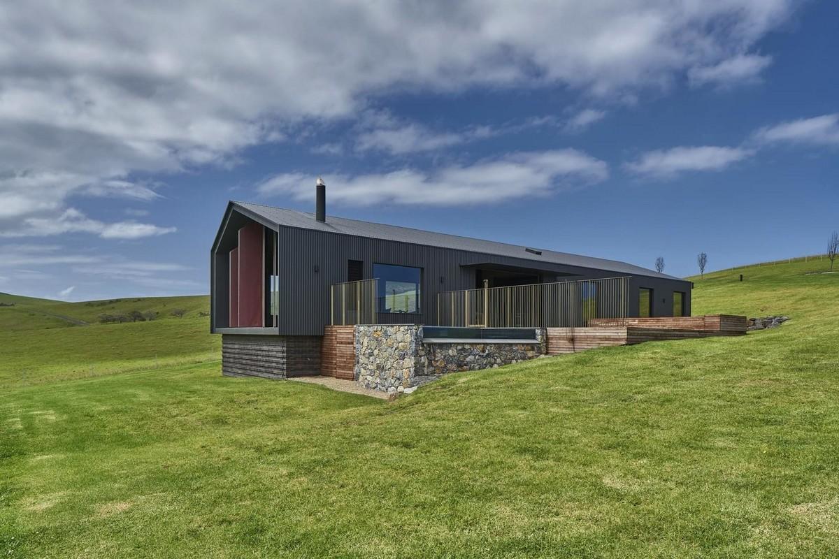 Современный дом в фермерском стиле в Австралии