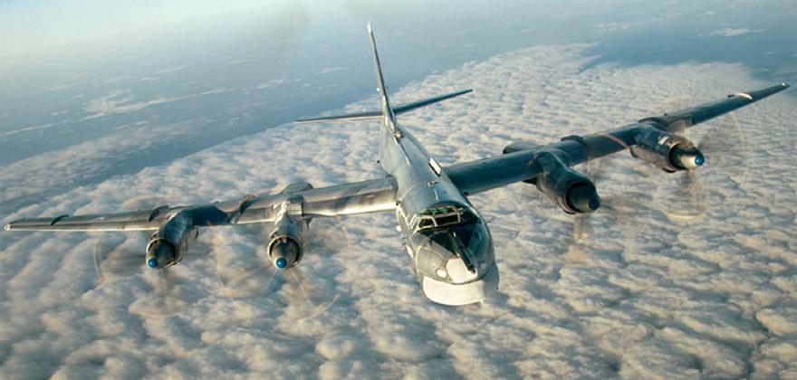 Взлет ядерного «Медведя» Ту-95
