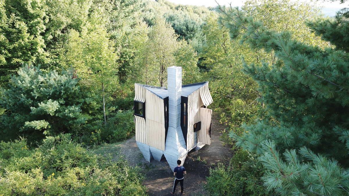 Дачный дом в США, напечатанный на 3D принтере