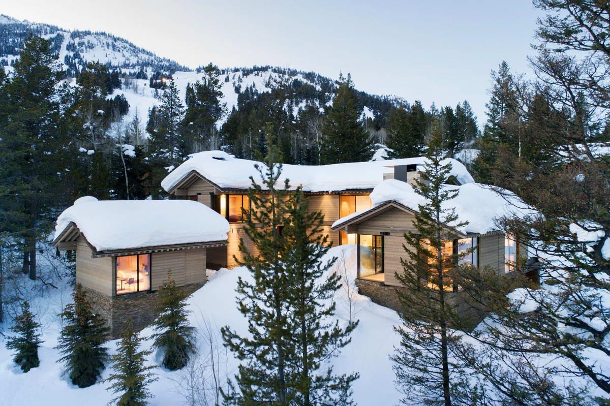 Лесная резиденция для активного отдыха в США