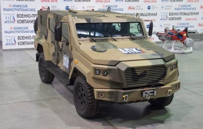 Производитель «Тигров» разработал легкий бронеавтомобиль «Стрела»