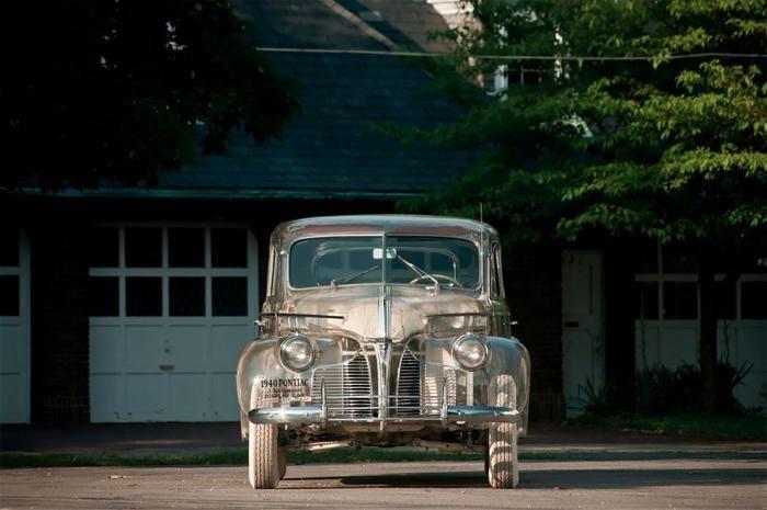 Прозрачный автомобиль-призрак: Pontiaс Plexiglas 1939 года