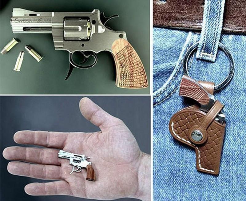 Самые маленькие среди пистолетов в мире