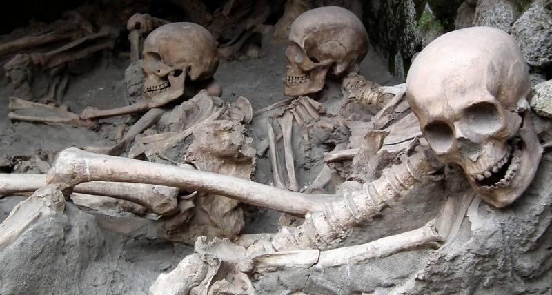 Жуткие археологические находки и открытия
