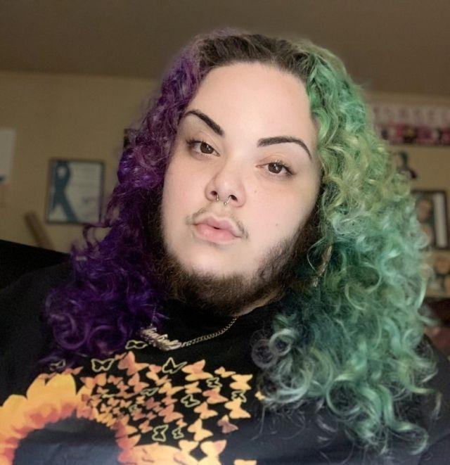 Бородатая девушка из Бронкса перестала стесняться своей внешности