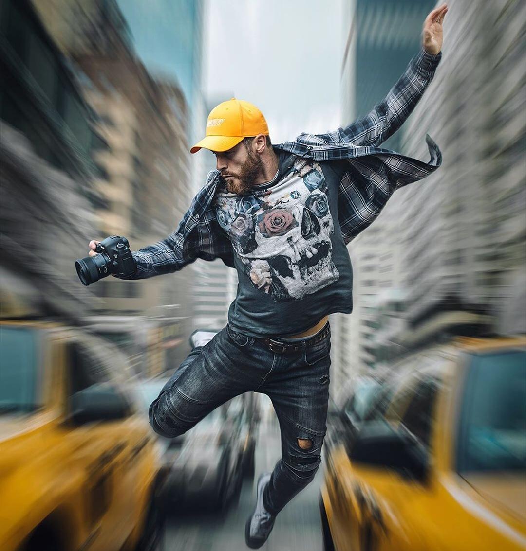 Британский фотограф Марк МакГи — мастер динамичных фотосессий