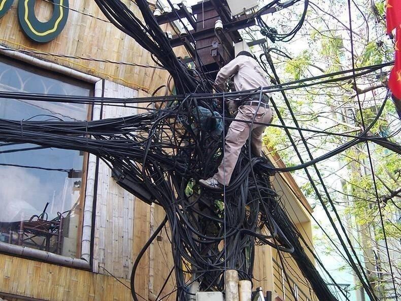 Электричество и техника безопасности не на высоте