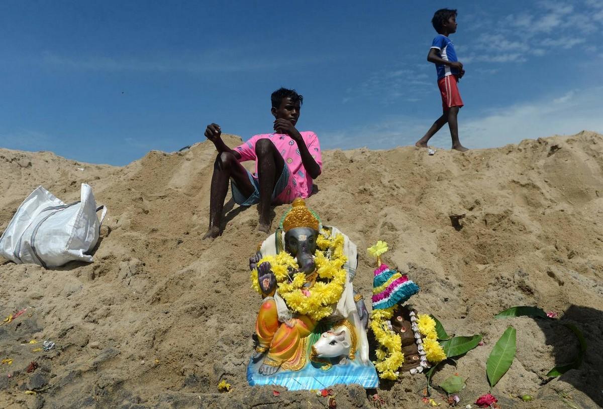 Ежегодный праздник Ганеши в Индии