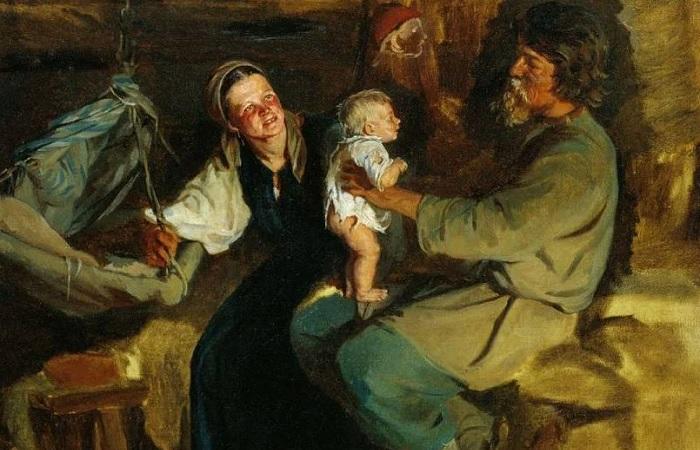 Как рожали и воспитывали детей на Руси