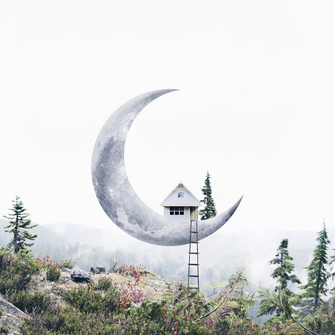 Потрясающие сказочные фотоманипуляции от Луизы Азеведо