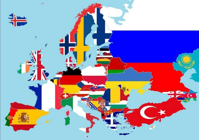 Самые маленькие среди стран Европы