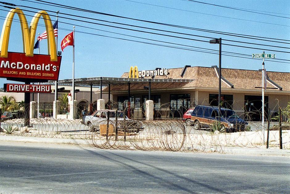 Самые необычные рестораны «Макдоналдс» в мире