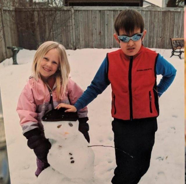 Семейные фотографии из детства, про которые хочется забыть
