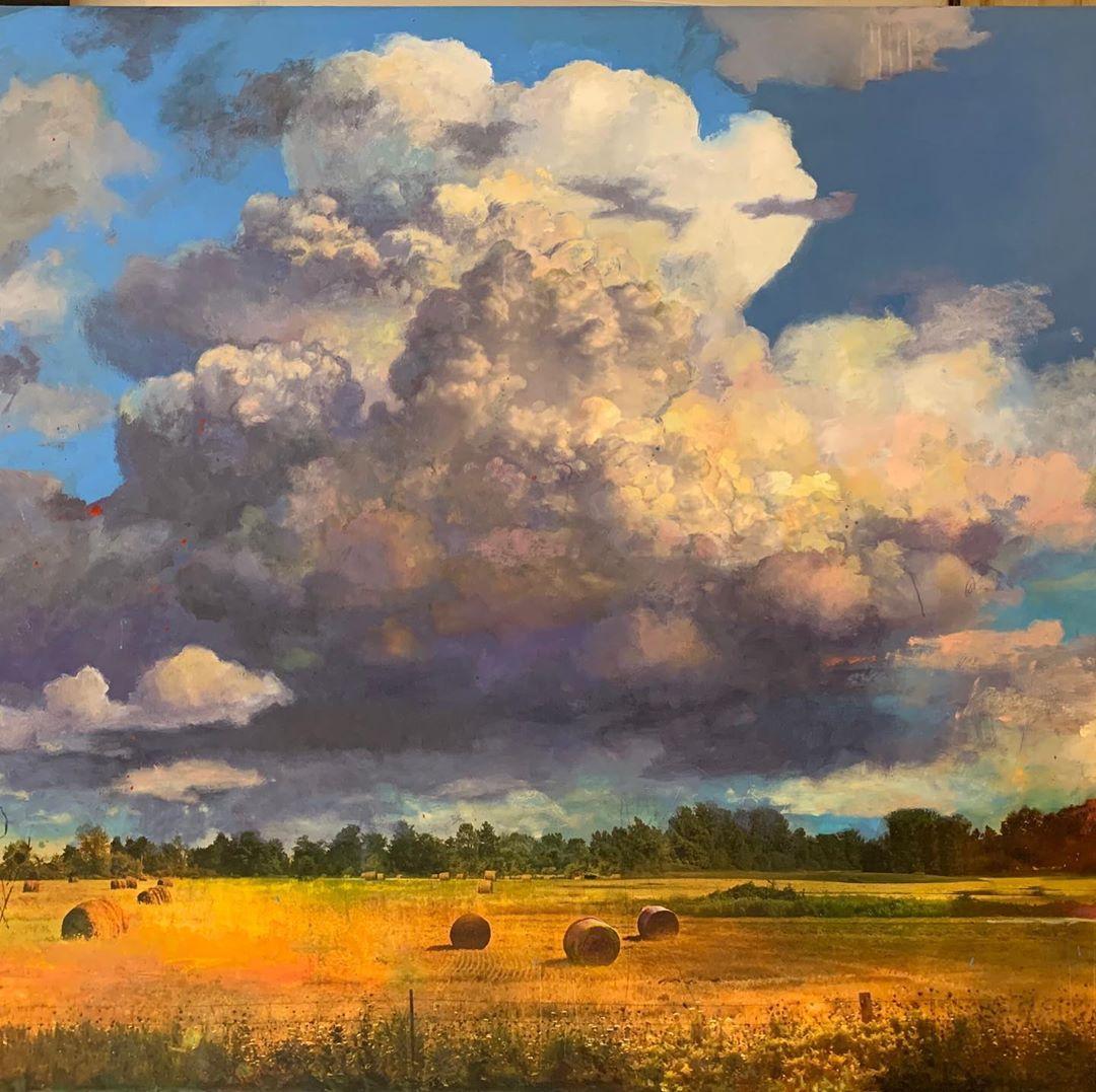 Смесь фотографии, живописи и графики от художника Стивена Холла