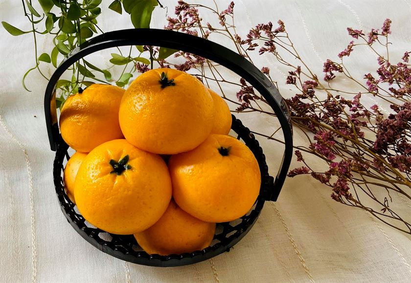 Сочные на вид мандарины, которые сдоба