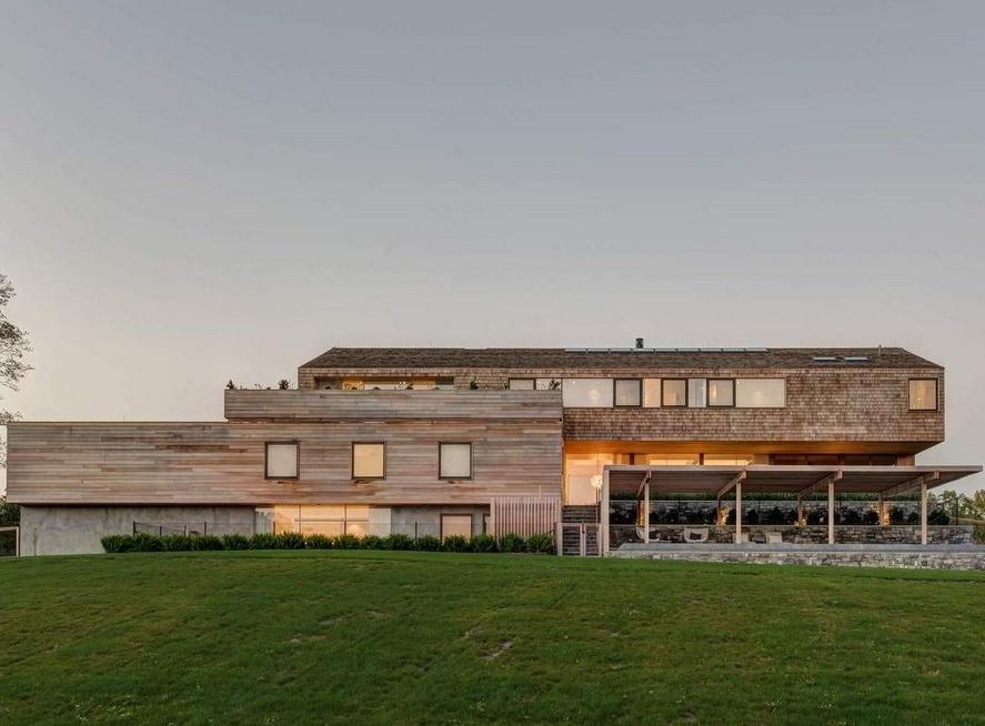 Современный семейный комплекс «Гудзонская долина» в США