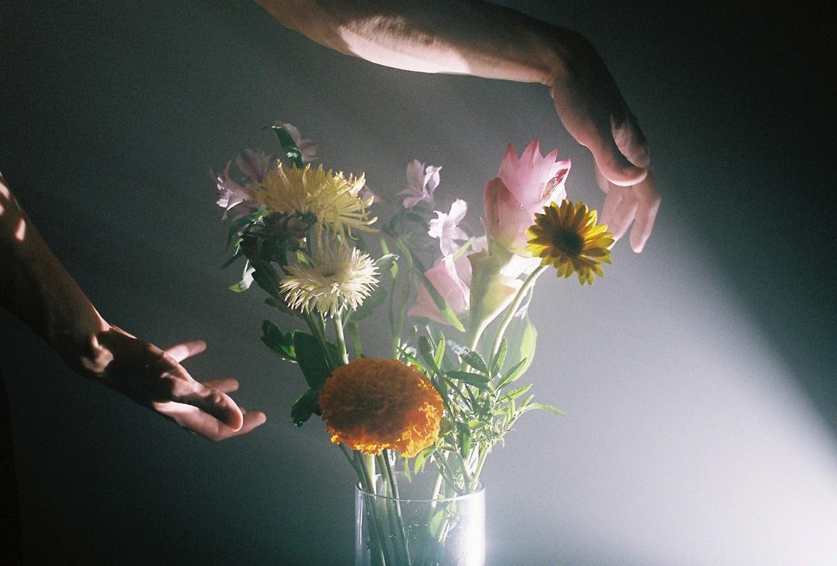 Увядающая красота цветов на снимках Чжи Хун Чжу