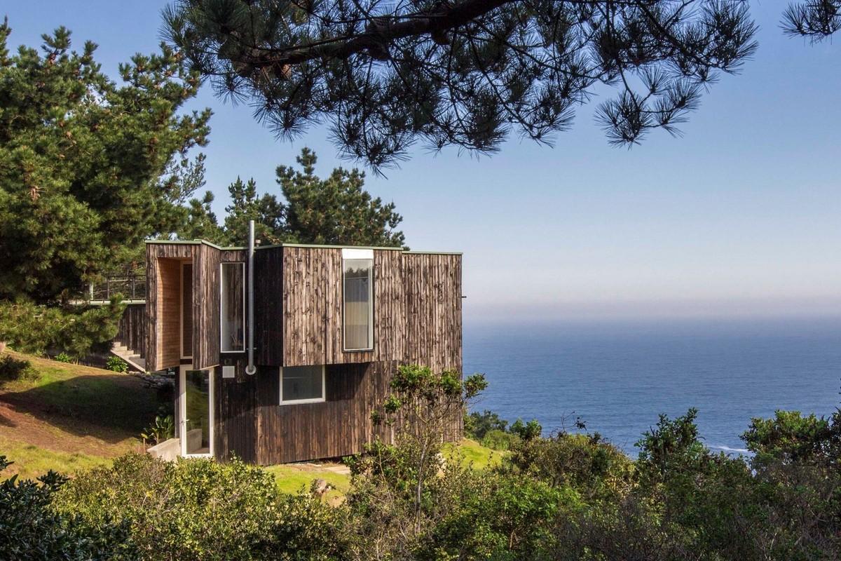 Загородный дом для отдыха на юге Чили