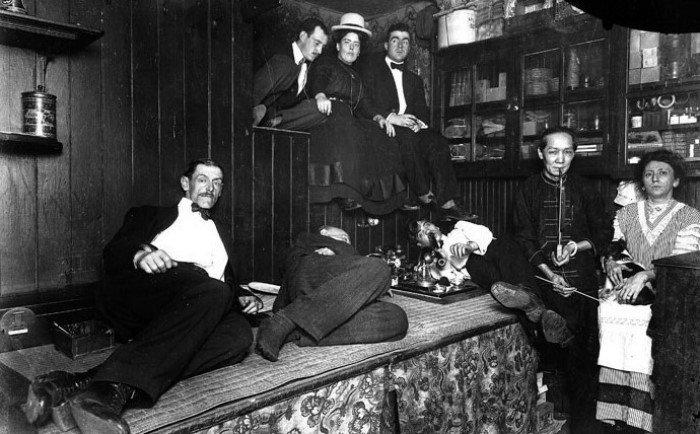 Запрещенное удовольствие: опиумные комнаты прошлого