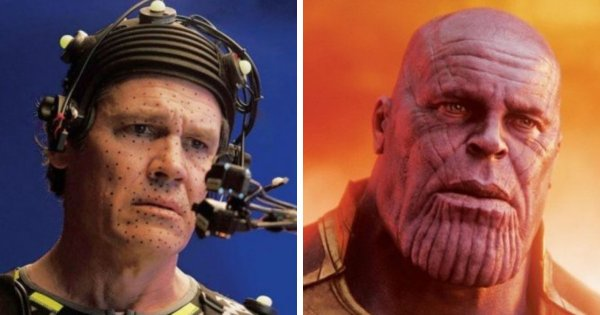 Актеры фантастических фильмов «до и после» своих превращений