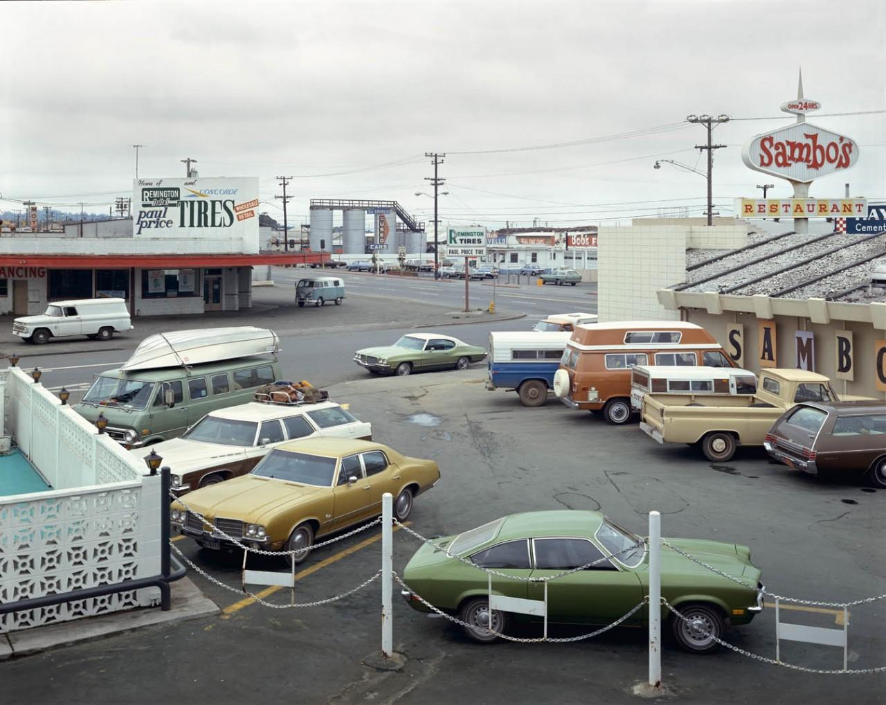 Америка в 1970-е на снимках Стивена Шора