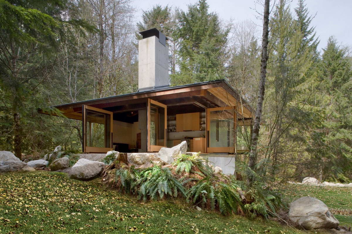 Домик для отдыха и медитации в штате Вашингтон
