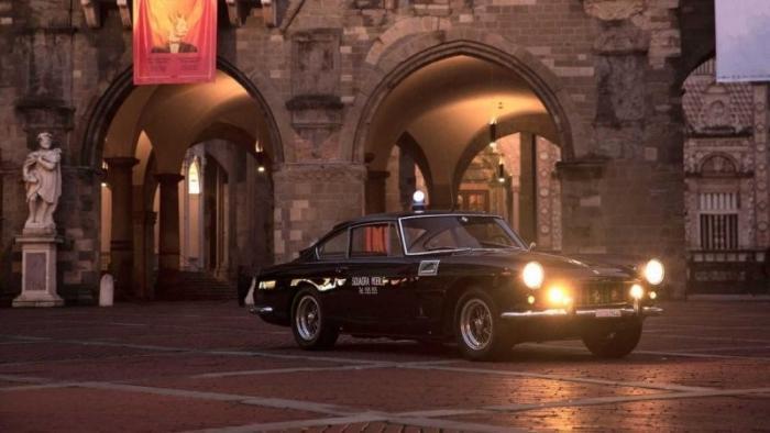 Ferrari по прозвищу «Пантера», которая работала в полиции