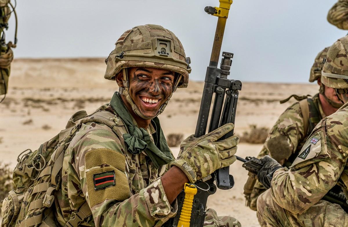 Лучшие снимки с конкурса британской армейской фотографии