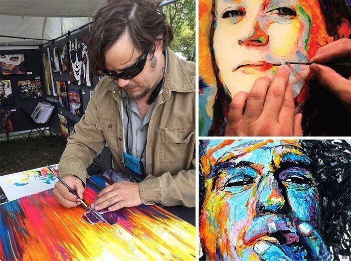 Люди с особенностями, которые творят чудеса в искусстве