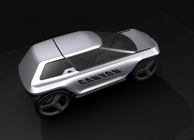 Немецкая компания Canyon показала концепт «велосипеда будущего»
