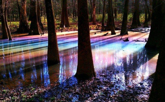 Пейзажи и чудеса природы, которые выглядят как инопланетные