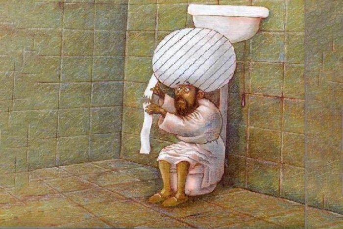 Почему мусульмане не пользуются туалетной бумагой?