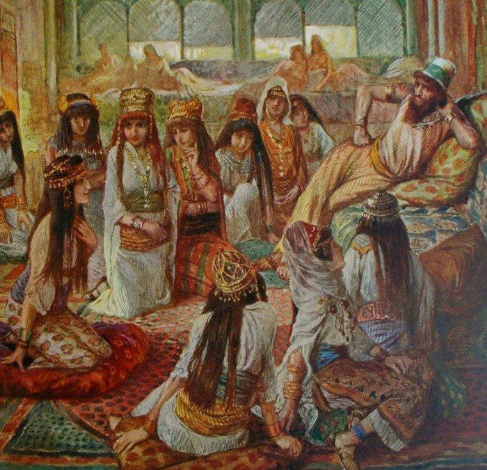Про многоженство в Древнем Израиле