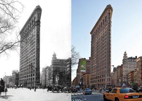 Тогда и сейчас: снимки о том, как быстро меняется мир